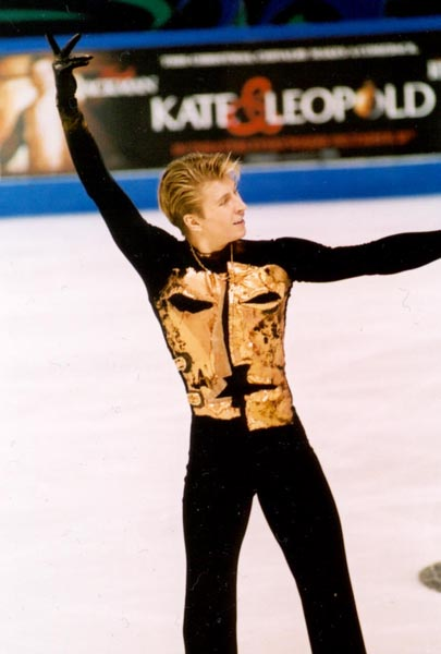 Alexei Yagudin Of The Great Evgeni Plushenko And Alexei Yagudin Rivalry
